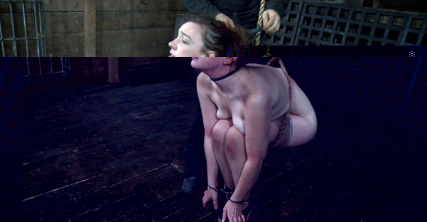 submissive slut tied and tortured
